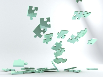 Falling-Puzzle-Pieces